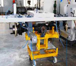 Axle testing machine